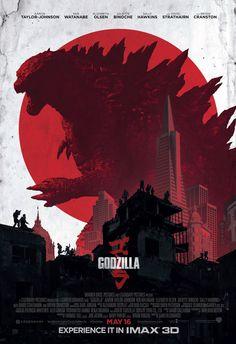 """""""Godzilla"""" IMAX poster (2014)"""