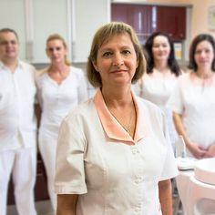 Dr. Med. Dent. Zsuzsanna Hegel - Zahnärztinin Chef Jackets, Women, Dentistry, Hungary, Woman