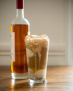 Oh my goodness, this sounds delicious! Bourbon Root Beer Float
