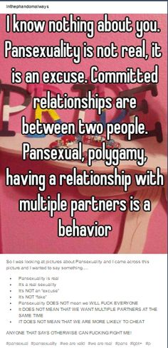 Pansexual, Pansexuality, Pans