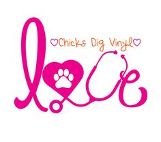 https://www.etsy.com/listing/209805172/love-stethoscope-vinyl-decal-with-paw