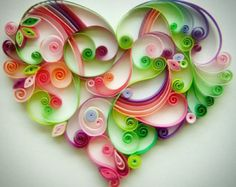 Quilling paper art design: Love in all its by Quillingdesign
