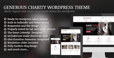 awesome Generous - Charity WordPress Theme (Charity)