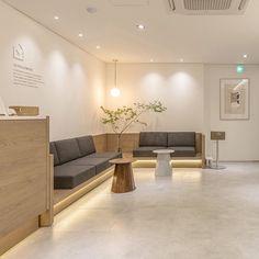 Medical Office Interior, Dental Office Decor, Medical Office Design, Modern Office Design, Clinic Interior Design, Design Salon, Clinic Design, Design Design, Waiting Room Decor