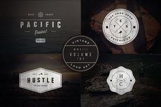 Vintage Logo Set:  Volume Two by Hustle Supply Co. on @creativemarket