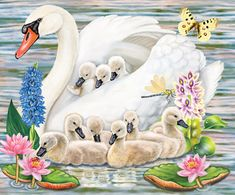 Mother Swan by Rosiland Solomon