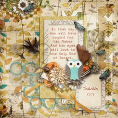 In that day man will have regard for his Maker And his eyes will look to the Holy One of Israel. Isaiah 17:7  kit: Falling in Love Mscraps Collab template: challenge freebie by MMartinez