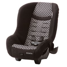 """MSRP $44 Scenera® NEXT Convertible Car Seat - Otto from Cosco Juvenile RF 5-40# 19-40"""" FF 22-40# 29-43"""" and must be 2 year old This seat is compact and small. By the time the child has maxed it out RF (around age 3), the seat is completely outgrown. However it is a great inexpensive RF option, especially for a secondary vehicle or if you'll  be passing it down  Review - http://csftl.org/cosco-scenera-next-review/"""
