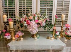 Doesn't get any better than pink and gold and all sorts of gorgeous! #cedarwoodweddings June Destination Wedding at Historic Cedarwood   Cedarwood Weddings