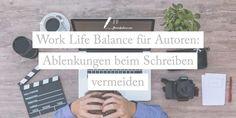 """Ein häufiges Problem, gerade bei langfristigen Projekten wie wissenschaftlichen Arbeiten oder einem Roman ist die sogenannte """"Work-Life-Balance"""", die richtige Balance zwischen Privatleben, potentiellen Ablenkungen und dem eigenen Projekt. Deshalb möchte ich Dir heute ein paar Tipps geben, damit Du als Autor diese Balance herstellen kannst. Work Life Balance, Fitbit, Motivation, Private Life, Authors, Science, Writing, Tips, Couple"""