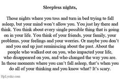sleepless quotes