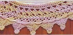 Junho 2008 - Bico em Crochê - /  Crochet Tip - 1