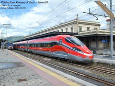High Speed Rail, Electric Train, Speed Training, Train Travel, Locomotive, Toscana, Trains, World, Parking Lot