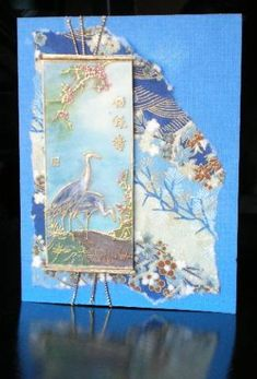 Oriental case blue version by nottoocreative - Cards and Paper Crafts at Splitcoaststampers