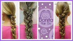Knot Accent Braid / Trenza Acento de Nudo /Bonita Hair Do