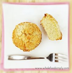 coconut crumble cakes
