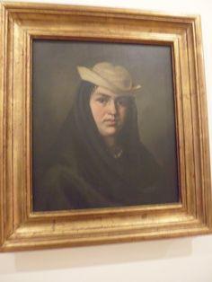 Felipe Santiago Gutiérrez Mexico 1824-1904 La Corrosca 1875.  Oleo sobre tela