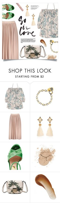 """""""Look So Lovely"""" by mahafromkailash ❤ liked on Polyvore featuring Freida Rothman, Rupert Sanderson, L'Oréal Paris and This Works"""