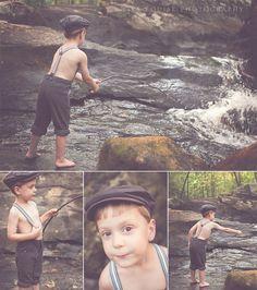 fishing stylized shoot by Lisa Louise Photography