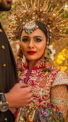 Indian Wedding Poses, Bengali Wedding, Bengali Bride, Pakistani Bridal Wear, Beautiful Indian Brides, Most Beautiful Indian Actress, Beautiful Bride, Muslimah Wedding Dress, Muslim Wedding Dresses