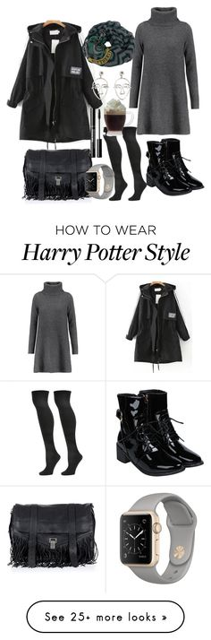 """""""Untitled #229"""" by sevncblt on Polyvore featuring Madeleine Thompson, Steve Madden, Proenza Schouler, Elope and MANGO"""