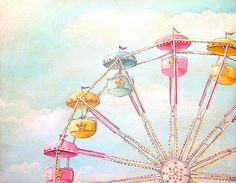 I Love Ferris Wheels: this time in a painting