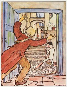 Rie Cramer (Dutch 1887-1977) - Postcard from The Adventures of Pinocchio