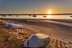 A beautiful sunrise over the Broadwater #GoldCoast  Photo by Gleno's Photography