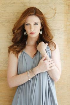 Bitsie Tulloch- She reminds me of Kyra- beautiful and feminine; she's a great balance for Jet's wild rebellious nature.