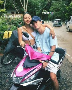 Happiest Monthsary, my OTP, my loves, my JaDine!😍💕 stay happy together always. I love you both so much. Couple Relationship, Cute Relationship Goals, Cute Relationships, Nadine Lustre Outfits, James Reid Wallpaper, Filipino Baby, Daniel Padilla, Jadine, Instagram Pose
