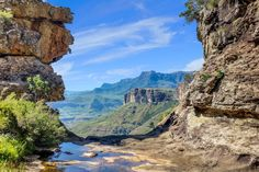 South Africa has some of the best hikes in the entire world. Here are the 9 best hikes in South Africa You Won't Want to Miss. Rhino Africa, Visit South Africa, Garden Route, Kwazulu Natal, Okavango Delta, Best Hikes, Pretoria, Africa Travel, India Travel