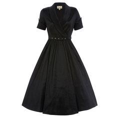 Vanda' Black Party Dress