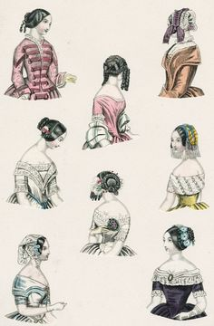 World of Fashion, February 1845