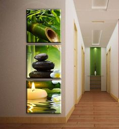 Cheap picture for living room, Buy Quality wall pictures directly from China oil painting Suppliers: 3 Panels bamboo candle canvas art modern oil painting wall pictures for living room decoration pictures corridor decor unframed Living Room Pictures, Home Pictures, Wall Art Pictures, Print Pictures, Oil Painting Pictures, Modern Oil Painting, Asian Home Decor, Cheap Home Decor, Home Wall Decor