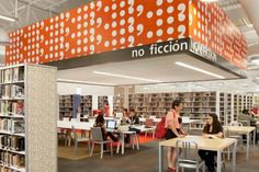 Library Interior Design Award | Project Title: McAllen Public Library | Project Location: McAllen, TX | Firm: Meyer, Scherer & Rockcastle, Ltd. (MS), Minneapolis, MN | Category: Public Libraries Over 30,000 SF | Award: Best of Category