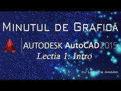 Lectia 1 - Introducere in AutoCAD - YouTube