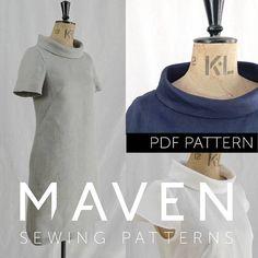 The French Dart Shift Tunic PDF sewing pattern tunic sewing