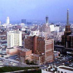 downtown la richfield building color