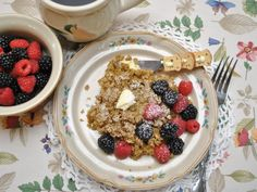 Amish Baked Oatmeal: so tasty and almost no work
