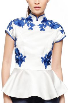 SisSae Royal Blue top . http://www.sissae.com/product/detail/139/79/0/278#.Uv305b-D7R0