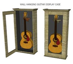 How To Make An Acoustic Guitar Display Case – Jays Custom Creations