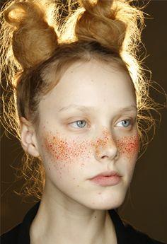 Hair & Make-up Inspiration - Red Label SS15 | Vivienne Westwood