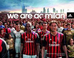 AC Milan adidas Home Shirt 2013/14