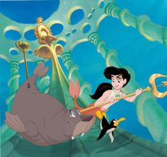 The Little Mermaid 2 Wallpaper: Melody Disney Princess Names, Disney Girls, Disney Love, Disney Art, Disney Stuff, Disney Family, Little Mermaid Characters, Little Mermaid Movies, Disney Characters