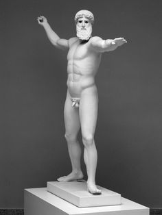 Statue des sog. Gottes aus dem Meer