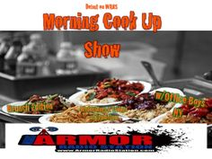 Stay tune The Morning Cook Up SHow Brunch Edition is coming up next on http://tunein.com/radio/Armor-Radio-Station-s200577/ ....whats cooking?