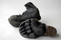 Animal Footprint Shoes: Confuse Hunters!