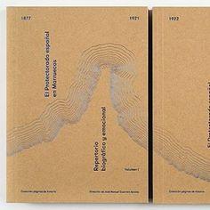 El Protectorado español en Marruecos. Design: Sánchez/LaCasta. See Books received on the Eye blog.
