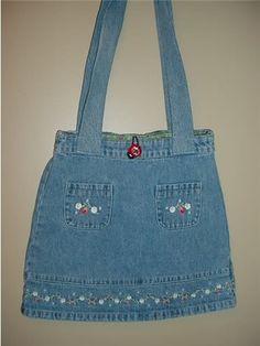 Deixe-me ver suas Denim Jeans Bags! - bolsas, sacolas, carteiras