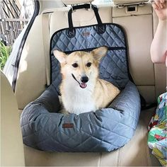 Multifunctional Pet Bed, Dog Car Bed Mattress, Distinguished Front And Rear Row Thickening Pet Mat Dog Car Accessories, Dog Car Seats, Small Dog Car Seat, Puppy Car Seat, Dog Cages, Hamster, Dog Safety, Dog Travel, Pet Mat